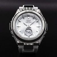 中亚Prime会员:Casio G-MS MSGS200-7A 白色银色手表