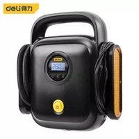 京东PLUS会员:deli 得力 DL8065 车载充气泵