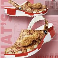 Crocs 卡骆驰 x KFC 肯德基联名款 206842 炸鸡洞洞鞋
