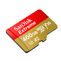 SanDisk 闪迪 Extreme microSDXC A2 UHS-I U3 TF存储卡 400GB