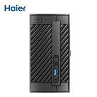 京东PLUS会员:Haier 海尔 云悦mini N-S78 迷你台式机(i5-9400、8GB、256GB)