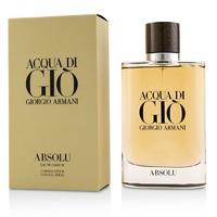银联爆品日:GIORGIO ARMANI 乔治·阿玛尼 寄情水精纯男士香水 125ml