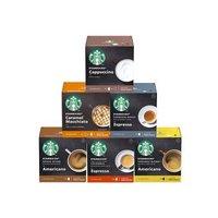 雀巢多趣酷思 星巴克(Starbucks) 胶囊咖啡 爆款六件套限量礼盒 (适用于雀巢多趣酷思咖啡机)