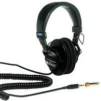 中亚Prime会员:SONY 索尼 MDR-7506 封闭式头戴 监听耳机