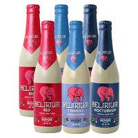 Delirium 粉象 深粉浅粉樱桃啤酒 330ml*6瓶 *4件