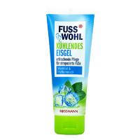 FUSS WOHL 薄荷舒缓护足啫喱 含薄荷脑和薄荷精油 滋润补水 消肿消痛75ml/支 *5件