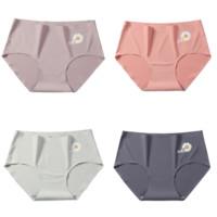 莫代尔 M-9615 女士小雏菊内裤 4条装