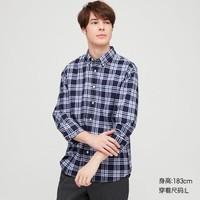 UNIQLO 优衣库 427297  男士格子衬衫