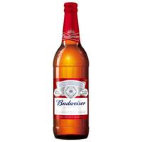 88VIP:Budweiser 百威啤酒 经典美式拉格 600ml*12瓶 *4件