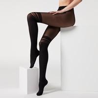 CALZEDONIA MODC1608 70D条纹连裤袜