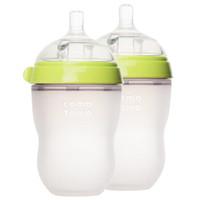 Comotomo 可么多么 婴儿全硅胶防摔奶瓶  250ML 两个装