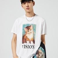 PEACEBIRD MEN 太平鸟 BWDAA2178 男士短袖T恤