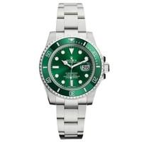 银联爆品日:Rolex 劳力士 绿水鬼 潜航者系列 116610LV 男款自动机械腕表