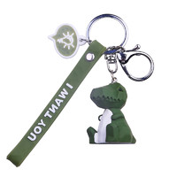 醉蓝  创意卡通钥匙链挂件