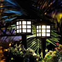 Neyankex 户外防水节能太阳能小夜灯 2个装(插入款暖光)