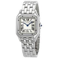 银联爆品日:Cartier 卡地亚 Panthere Meduim 钻石表盘 女士自动腕表