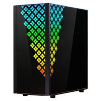 BitFenix 火鸟 黎明至尊 DAWN TG 黑色 玻璃侧透机箱(E-ATX、前置Type-C、360mm冷排)