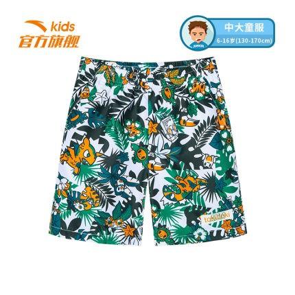 ANTA 安踏 tOKIDOKI 男童沙滩短裤