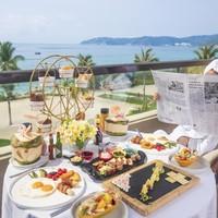享24小时入住制!金茂三亚亚龙湾希尔顿酒店 高级海景房2晚(含早餐+美食升级4选1+代金券)