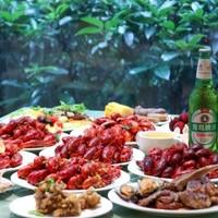 7种口味小龙虾畅吃!啤酒畅饮!上海浦东假日酒店小龙虾自助晚餐