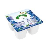 京东PLUS会员:SUKI 多美鲜 蓝莓果粒脱脂酸奶 100g*24杯