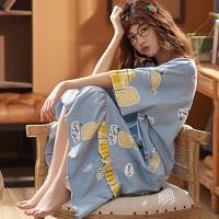 俏贝娅 女士纯棉睡裙 M-3XL