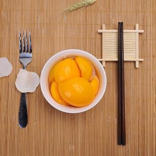 故里田间 糖水黄桃罐头 425g*4罐