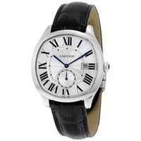 Cartier 卡地亚 大道系列自动镀银表盘 男士手表