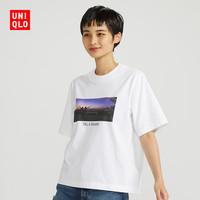 UNIQLO 优衣库 WOMEN IN MOVIES 427984 女士印花T恤