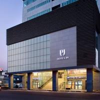 首尔明洞PJ酒店 尊贵双床房1晚(含双早+行政酒廊+延迟退房至18点+景点免费班车)