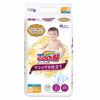 限地区:GOO.N 大王 棉花糖系列 婴儿纸尿裤 M46片