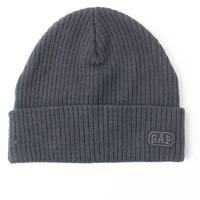 Gap 473968 纯色针织毛线帽子
