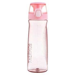 THERMOS膳魔师朱一龙同款Tritan塑料水杯700ML运动水杯TCSD-700小哑铃   PK粉色