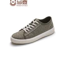 "MADEN 马登 1903041 ""胡椒盐""男士帆布鞋"