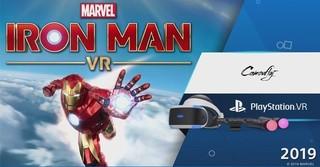 索尼 PS4 VR游戏《漫威钢铁侠VR》