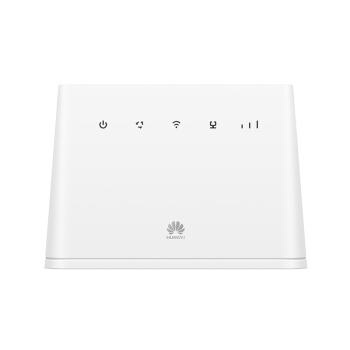 华为(HUAWEI)4G路由 2/插卡上网/4G三网通/千兆网口CPE/车载WiFi/无线转有线宽带/B311As-853(单月500G联通全国上网卡版)