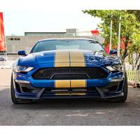 福特野马2.3T 谢尔比 SHELBY 宽体版 汽车整车 蓝色