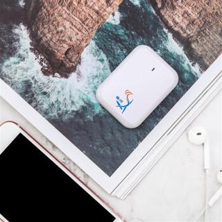 随U行M6免插卡移动随身wifi 三网通4g不限速 办公户外车载专用wifi无线上网终端含10G流量(时尚白)