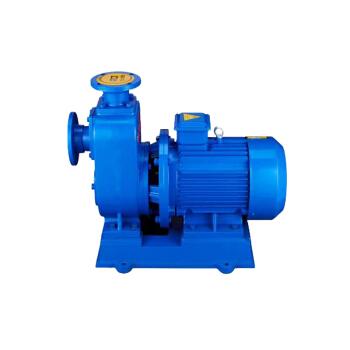 开利80ZW65-55-15联体自吸无堵塞排污泵380V15kw口径3寸