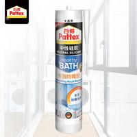 汉高百得(Pattex)SBSD Plus-T玻璃胶密封胶中性硅胶防霉防水超强弹性厨房/卫生间封边胶半透明 300ml/支