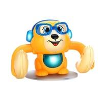 移动专享:KIDNOAM 衾美 电动翻滚猴 颜色随机