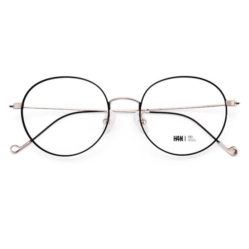 ZEISS 蔡司 1.59折射率 佳锐防蓝光pc镜片*2片 + HAN 4840/4959金属眼镜框