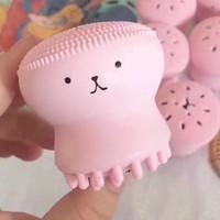 移动专享:xionglianghao 熊俩好 小章鱼硅胶洗脸刷  2只装