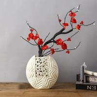 Hoatai Ceramic 华达泰 傲雪迎春 创意花瓶