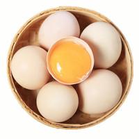 草帽熊  新鲜农家自养土鸡蛋 30枚