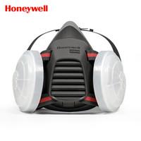 霍尼韦尔(Honeywell) 防尘面具套装 防工业粉尘雾霾 男女 喷漆 焊接打磨 实验室 防毒面罩 5500系列 1套