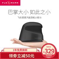 飞乐思(FLEXWARM)电熨斗 蒸汽挂烫机 便携式小型熨斗 手持家用熨烫机 出差旅行迷你熨衣服  黑色