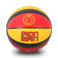 祖迪斯(JOEREX)漫威联名款篮球 室内室外7号PU篮球钢铁侠 耐磨防滑比赛训练篮球JMAA19013-I