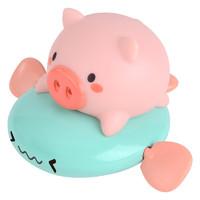 浴萌 宝宝洗澡玩具 萌猪飞鱼 颜色随机
