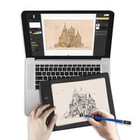 实录ISKN Slate 2+ 数位板 无线蓝牙 手绘板 绘图板 手写板 电脑绘画板 绘画板
